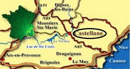 plattegrond castellane